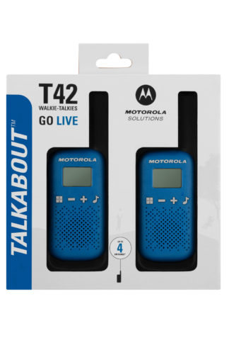 Motorola T42 Twin pack - blue