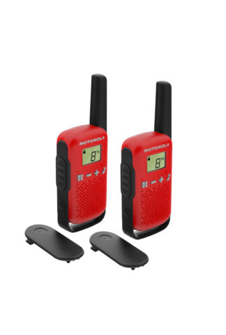 Motorola T42 Twin pack - Red