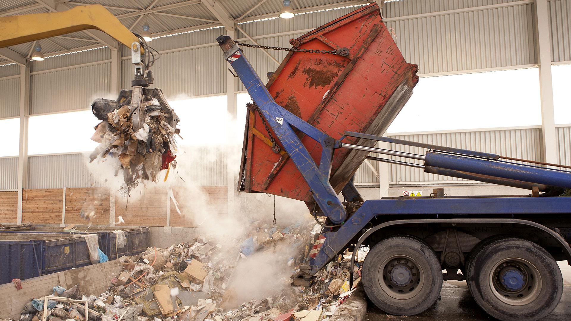 Waste Management using Walkie Talkies
